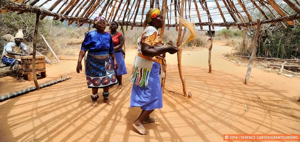 Msorongo Village, a half hour drive from Salt Lick, a Sarova gam