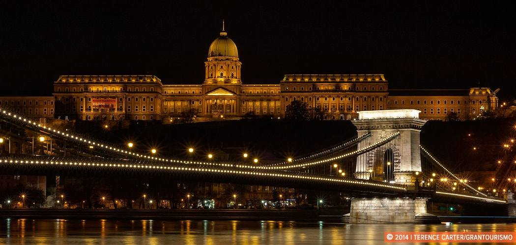 Royal Palace overlooking the Danube River, Budapest, Hungary. Copyright 2014 Terence Carter / Grantourismo. All Rights Reserved.