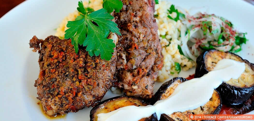 The Dish: Spicy Turkish Lamb Chops with Bulgur. Istanbul, Turkey