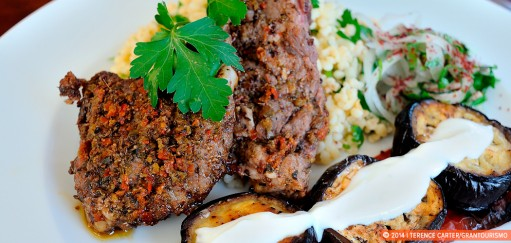 Spicy Turkish Lamb Chops with Bulgur Recipe