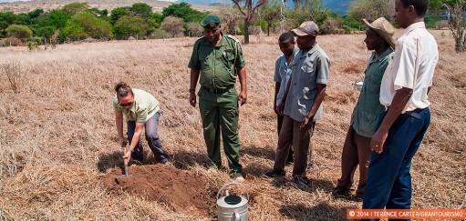 Tree Planting at Taita Hills Wildlife Sanctuary