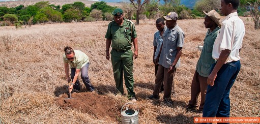 Tree Planting at Taita Hills Wildlife Sanctuary