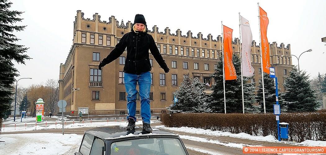 A Communist Tour of Nowa Huta, Kraków, with Crazy Guides. Krako