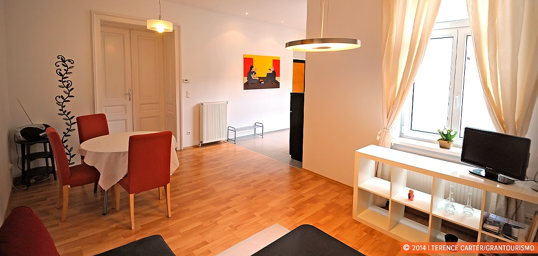 Holiday Rental Apartment, Vienna, Austria. Our Home Away from Home in Vienna. Copyright 2014 Terence Carter / Grantourismo. All Rights Reserved.