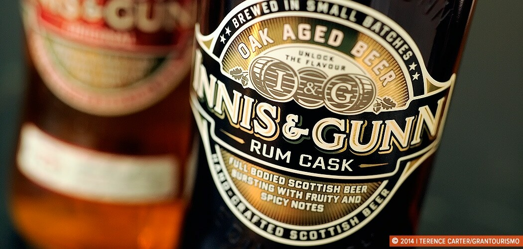 Innis & Gunn, handcrafted Scottish Beer. Edinburgh, Scotland.