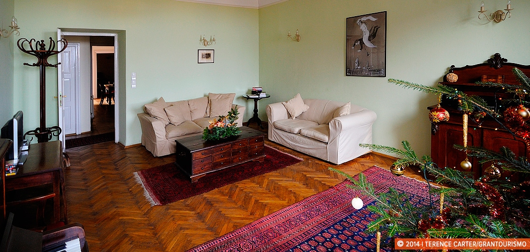 Our Kraków Holiday Rental Apartment, Poland. Copyright 2014 Terence Carter / Grantourismo. All Rights Reserved.