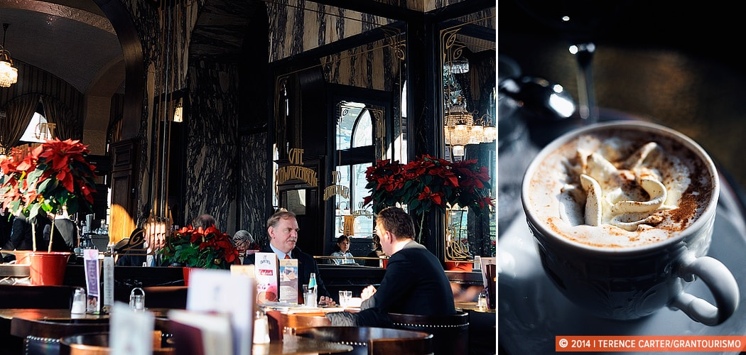 Vienna's Coffeehouse Culture, Austria. Copyright 2014 Terence Carter / Grantourismo. All Rights Reserved.