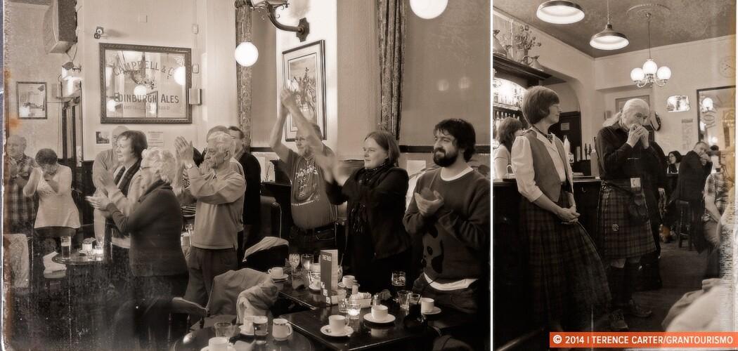 Burns Supper, Edinburgh, Scotland.