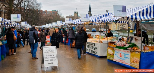 Local Produce: Edinburgh Farmer's Market & Specialty Shops
