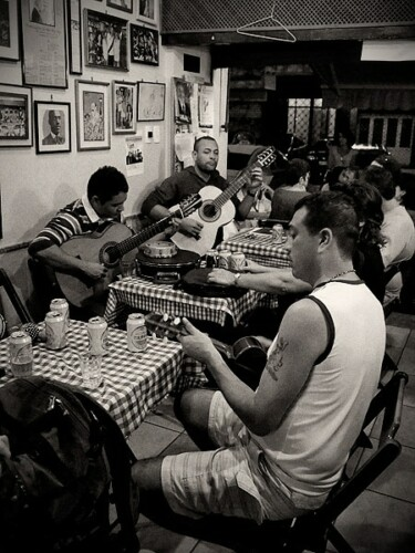 Music in Rio. Copyright 2014 Terence Carter / Grantourismo. All Rights Reserved.