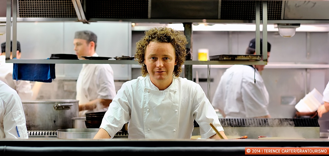 In The Kitchin with Tom Kitchin, Edinburgh, Scotland. Copyright 2014 Terence Carter / Grantourismo. All Rights Reserved.