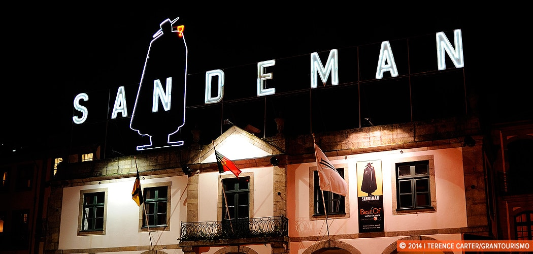 Sandeman, one of the world's most renowned port makers, Porto, Portugal. Copyright 2014 Terence Carter / Grantourismo. All Rights Reserved.