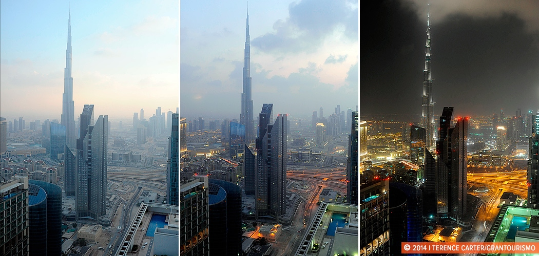 TimeLapse of the Burj Khalifa, Dubai, UAE. Copyright 2014 Terence Carter / Grantourismo. All Rights Reserved.