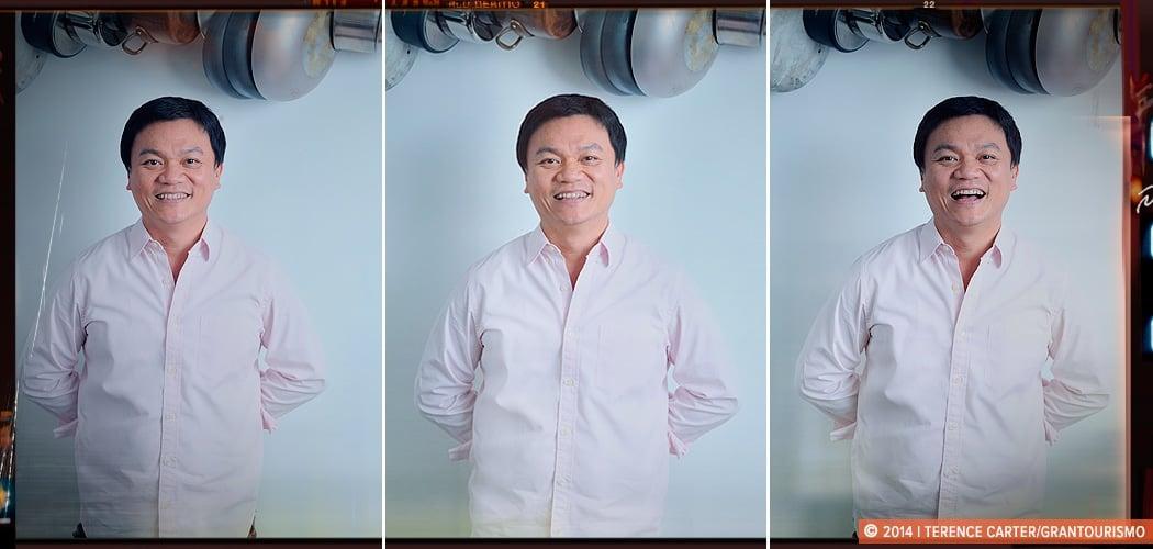 Chef Ian Kittichai, Bangkok. Copyright 2014 Terence Carter / Grantourismo. All Rights Reserved.