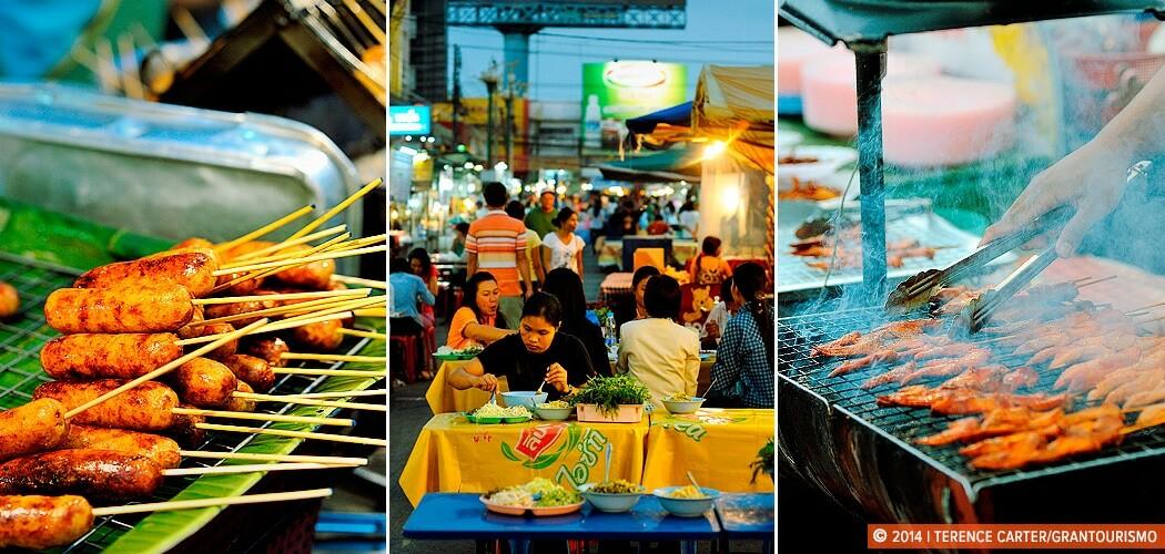 Footpath Feasting: Fiery Isaan Food at Khon Kaen Markets.