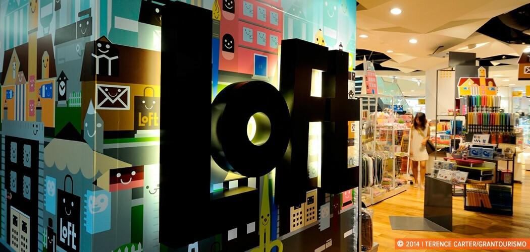 Loft, Siam Discovery Mall, Bangkok, Thailand.