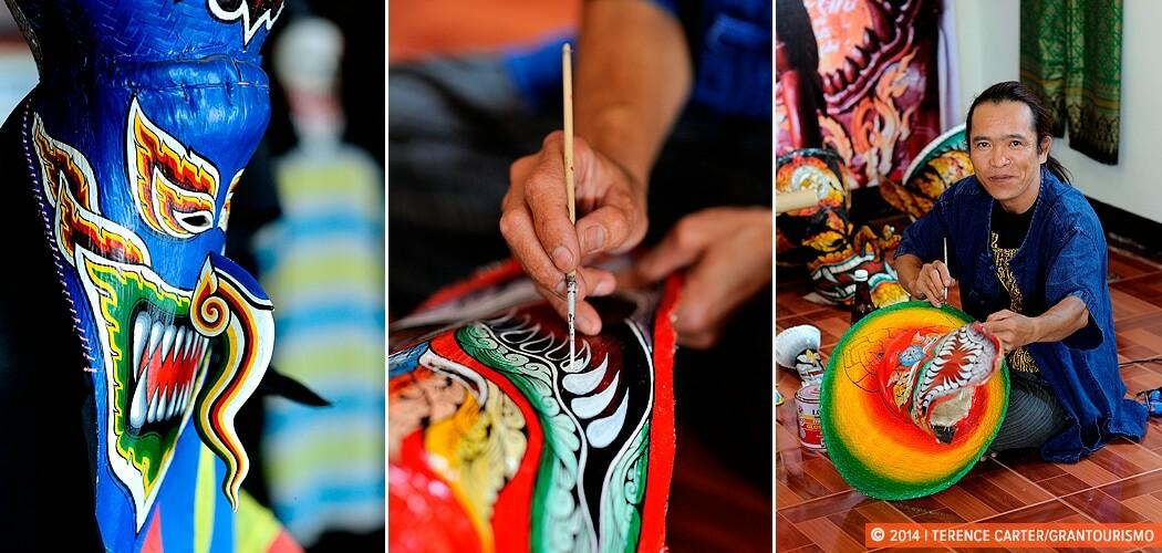 Exploring the Isaan: the Mask Makers of Dan Sai, Thailand.
