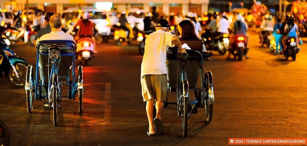 Ben Thanh Night Market, Ho Chi Minh City (Saigon), Vietnam.