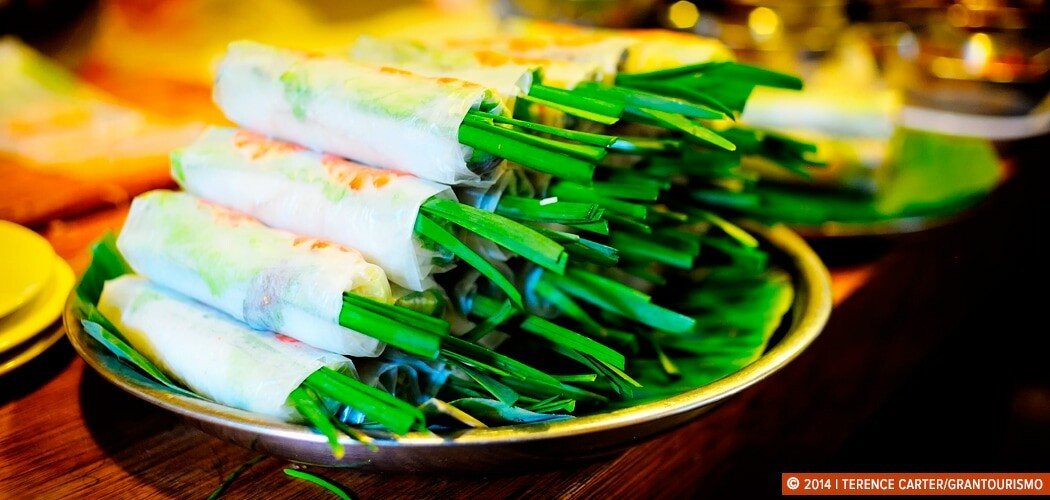 Fresh Spring Rolls, Ho Chi Minh City (Saigon), Vietnam.
