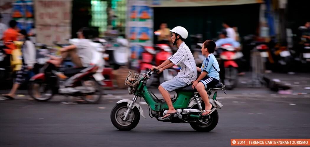 Saigon, the City of Millions of Motorbikes. Ho Chi Minh City (Sa