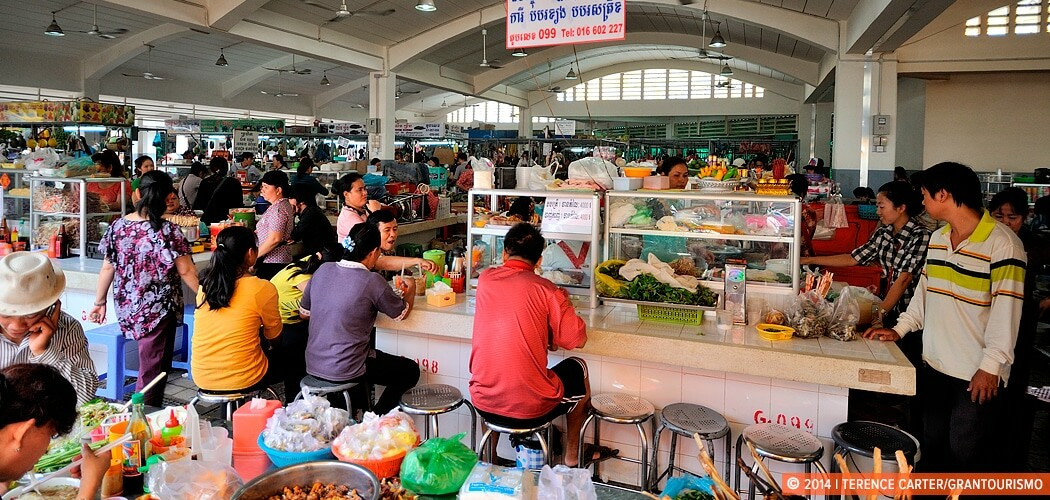 Central Market — Phsar Thmey, Phnom Penh, Cambodia