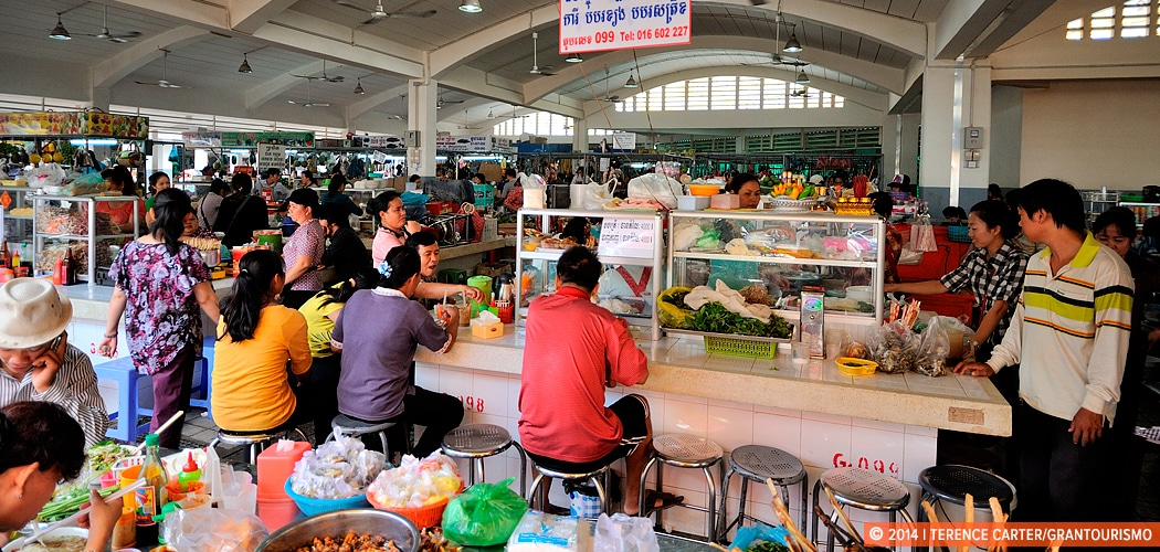 Central Market — Phsar Thmey, Phnom Penh, Cambodia. Copyright 2014 Terence Carter / Grantourismo. All Rights Reserved.