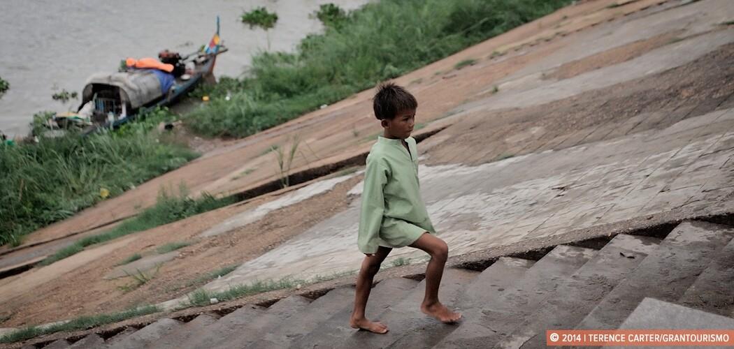 A boy in Phnom Penh, Cambodia