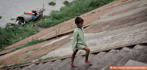 Monday Memories: A Boy in Phnom Penh, Cambodia