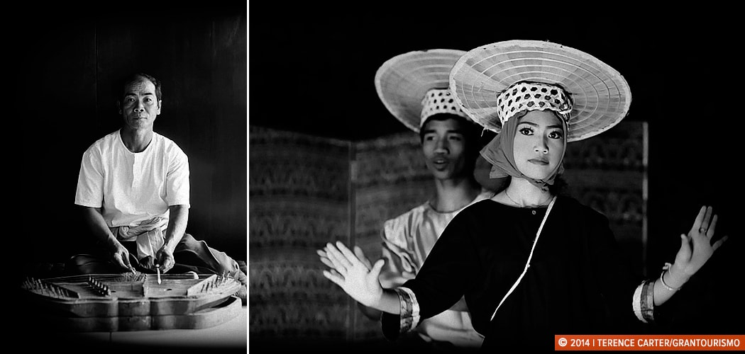 Performance, music and Apsara dancing, Siem Reap, Cambodia. Copyright 2014 Terence Carter / Grantourismo. All Rights Reserved. Tourism Spectacles.
