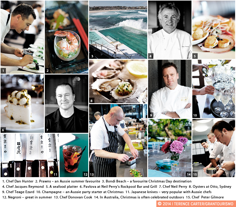 Last Minute Foodie Christmas Tips from Australia's Finest Chefs. Copyright 2014 Terence Carter / Grantourismo. All Rights Reserved.