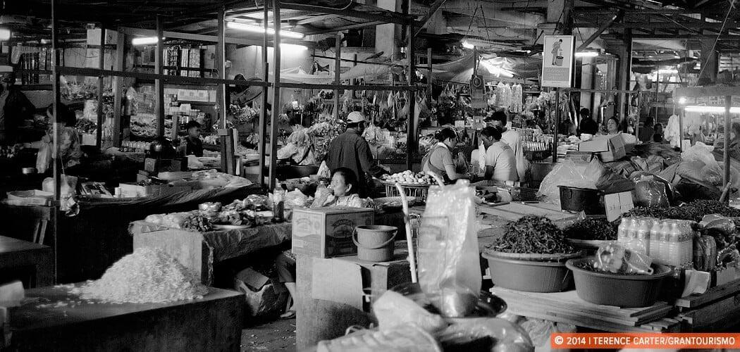 Luang Prabang Market visit. Luang Prabang, Laos.