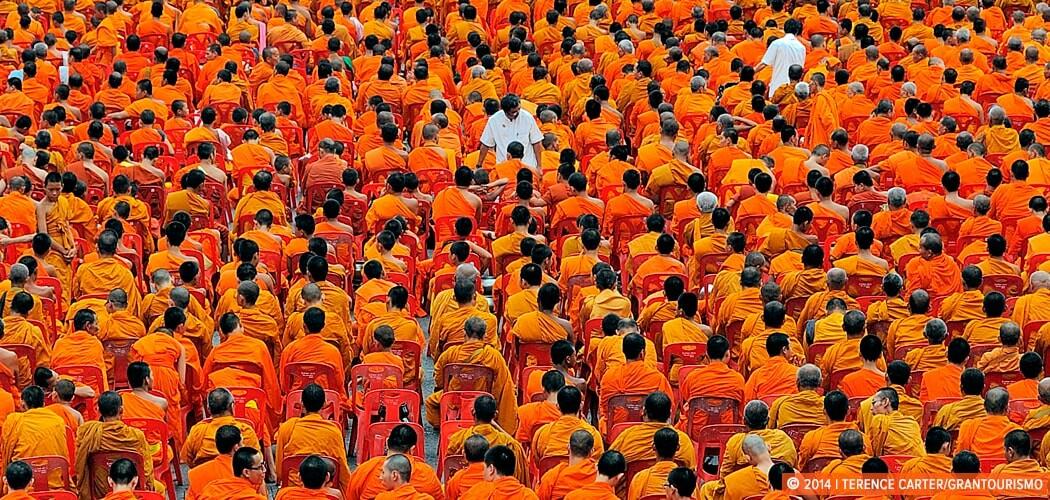 Monks, Bangkok.