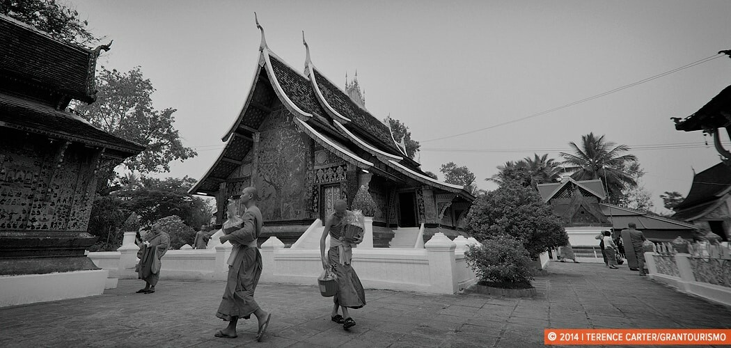 Monks in a Luang Prabang Temple.