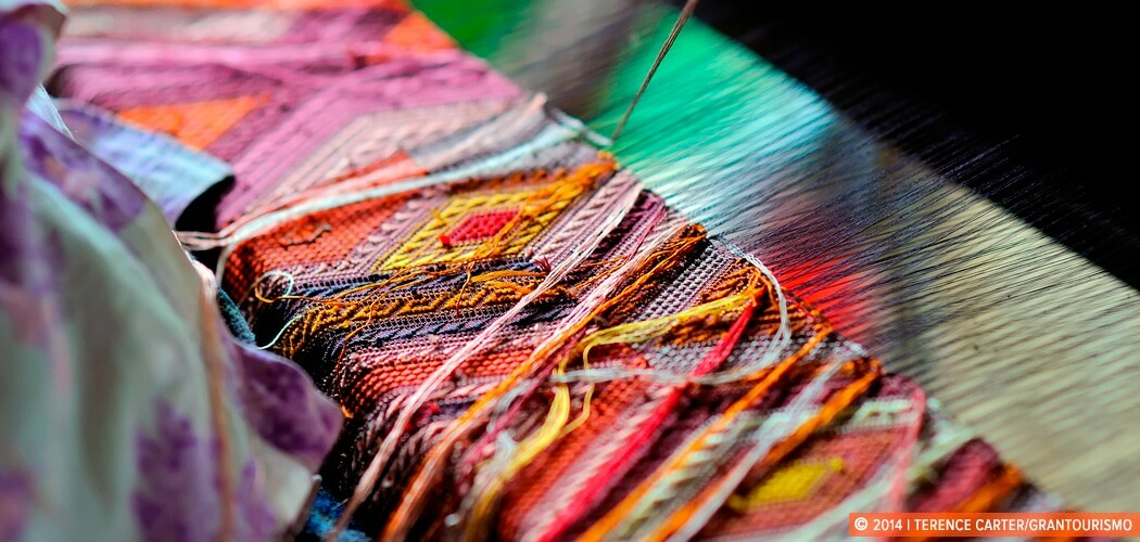 East Meets West at Ock Pop Tok Weaving Centre in Luang Prabang,