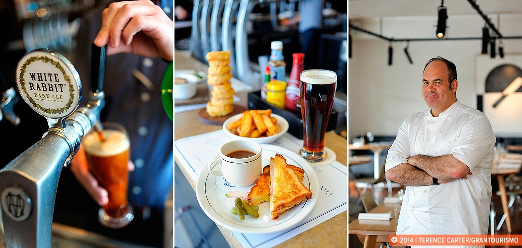 The Renaissance of The Great Australian Pub Counter Meal, with Chef Paul Wilson. Melbourne, Victoria. Copyright 2014 Terence Carter / Grantourismo. All Rights Reserved.