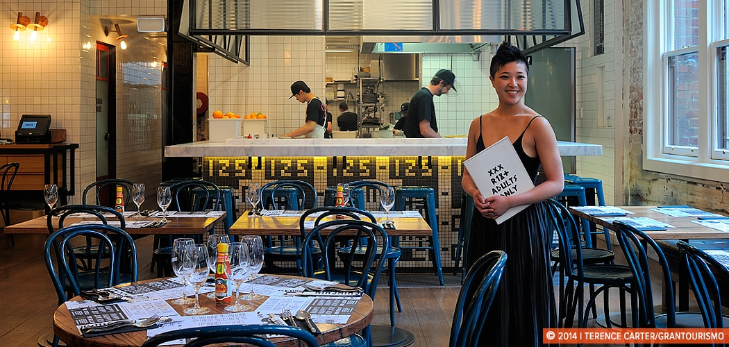 Jess Ho's Guide to Eating and Drinking in Melbourne. Copyright 2014 Terence Carter / Grantourismo. All Rights Reserved.