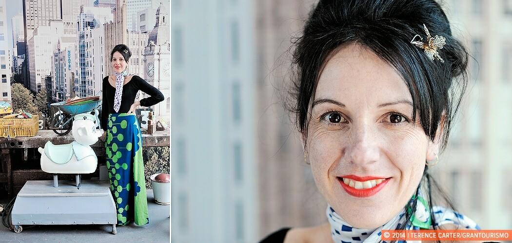 Danielle Pumo, vintage expert, Melbourne, Australia.