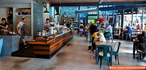 Coffee Cupping at Market Lane Café in Melbourne