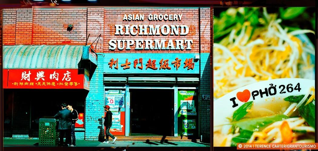 Melbourne's Little Saigon, Victoria Street Richmond. Victoria,