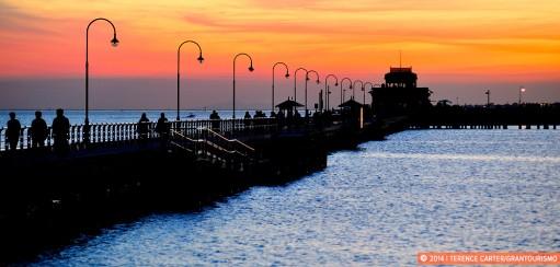 Monday Memories: Sublime Sunset at St Kilda Pier