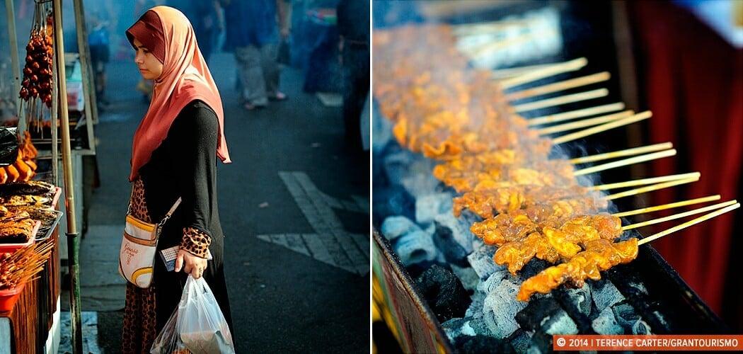 Ramadan shopping in Borneo, Malaysia.