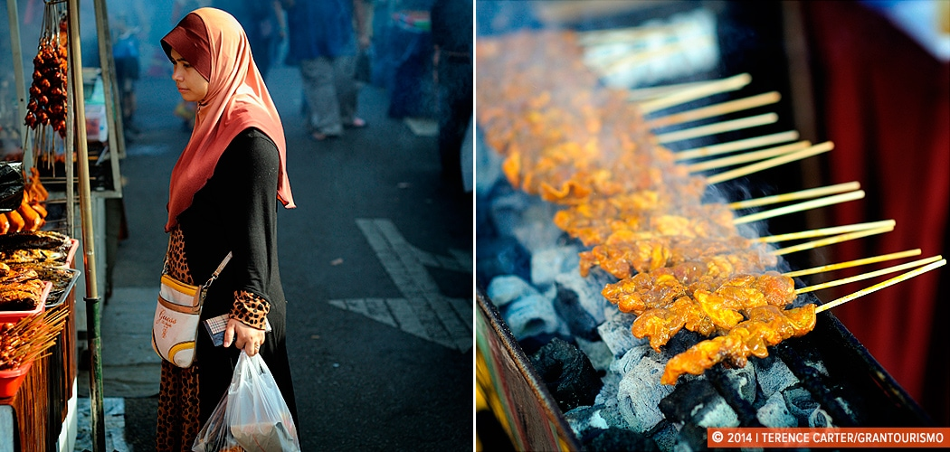 Ramadan shopping in Borneo, Malaysia. Copyright 2014 Terence Carter / Grantourismo. All Rights Reserved.