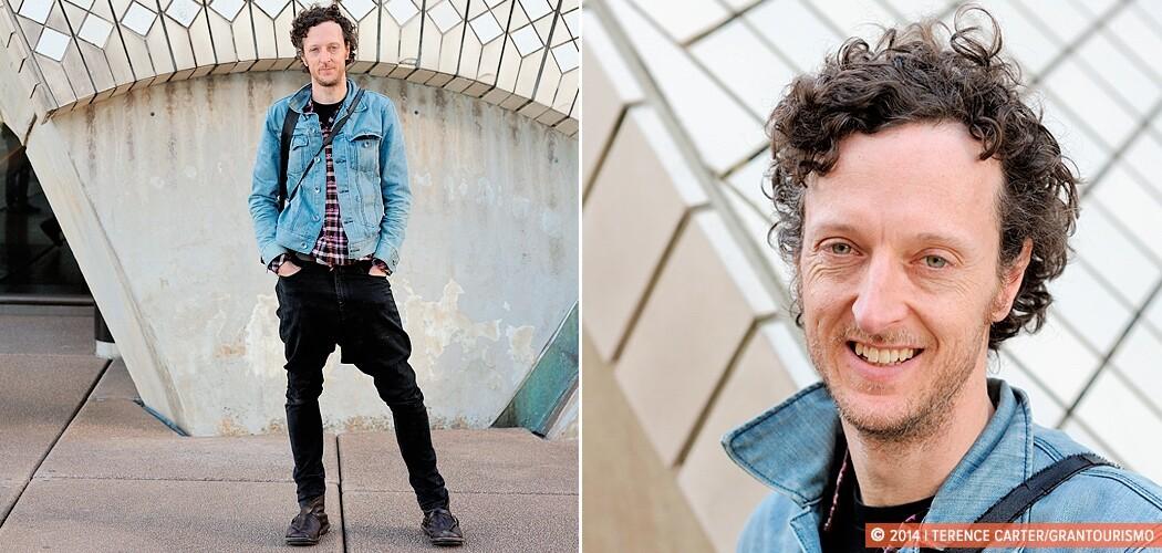 Sydney architect and Jørn Utzon expert, Eoghan Lewis. Sydney Op