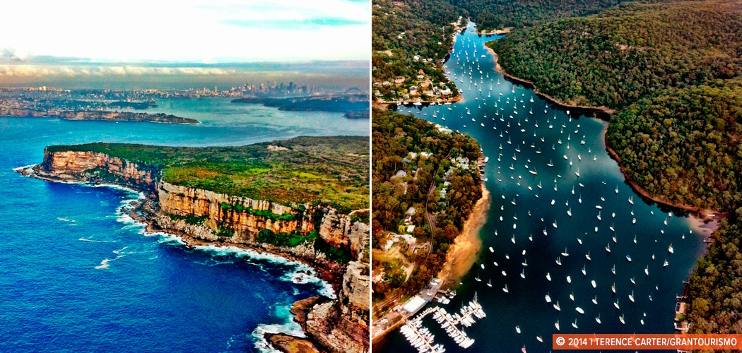 Sydney Harbour by Seaplane, Sydney, Australia. Copyright 2014 Terence Carter / Grantourismo. All Rights Reserved.