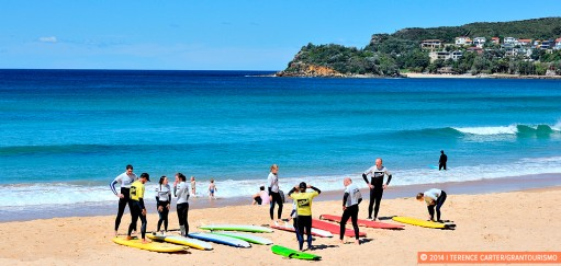 Escape to Manly, a Seaside Holiday Town in the City of Sydney