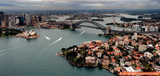 Monday Memories: Coasting Over Sydney