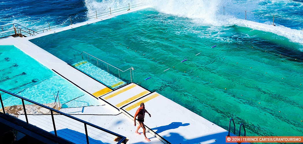 best harbour and ocean swimming pools in sydney. Bondi Icebergs, Sydney, Australia. Copyright 2014 Terence Carter / Grantourismo. All Rights Reserved.
