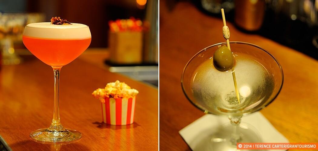 Cocktails at Hinky Dinks, Sydney, Australia