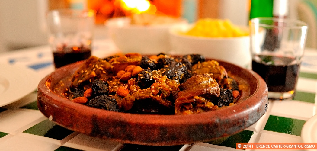 Lamb Tagine. Essaouira, Morocco. Copyright 2014 Terence Carter / Grantourismo. All Rights Reserved.