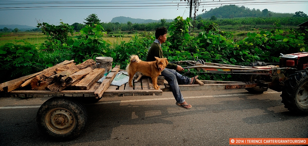 Street life, Isaan, Thailand. Copyright 2014 Terence Carter / Grantourismo. All Rights Reserved. Slow travel.